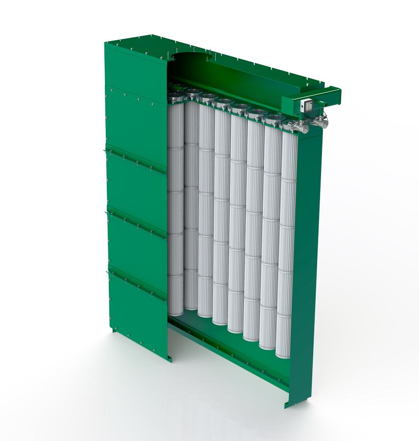 Гофрированные рукавные фильтры для промышленной аспирации